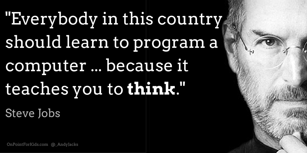 Learn How to Code to Learn How to Think