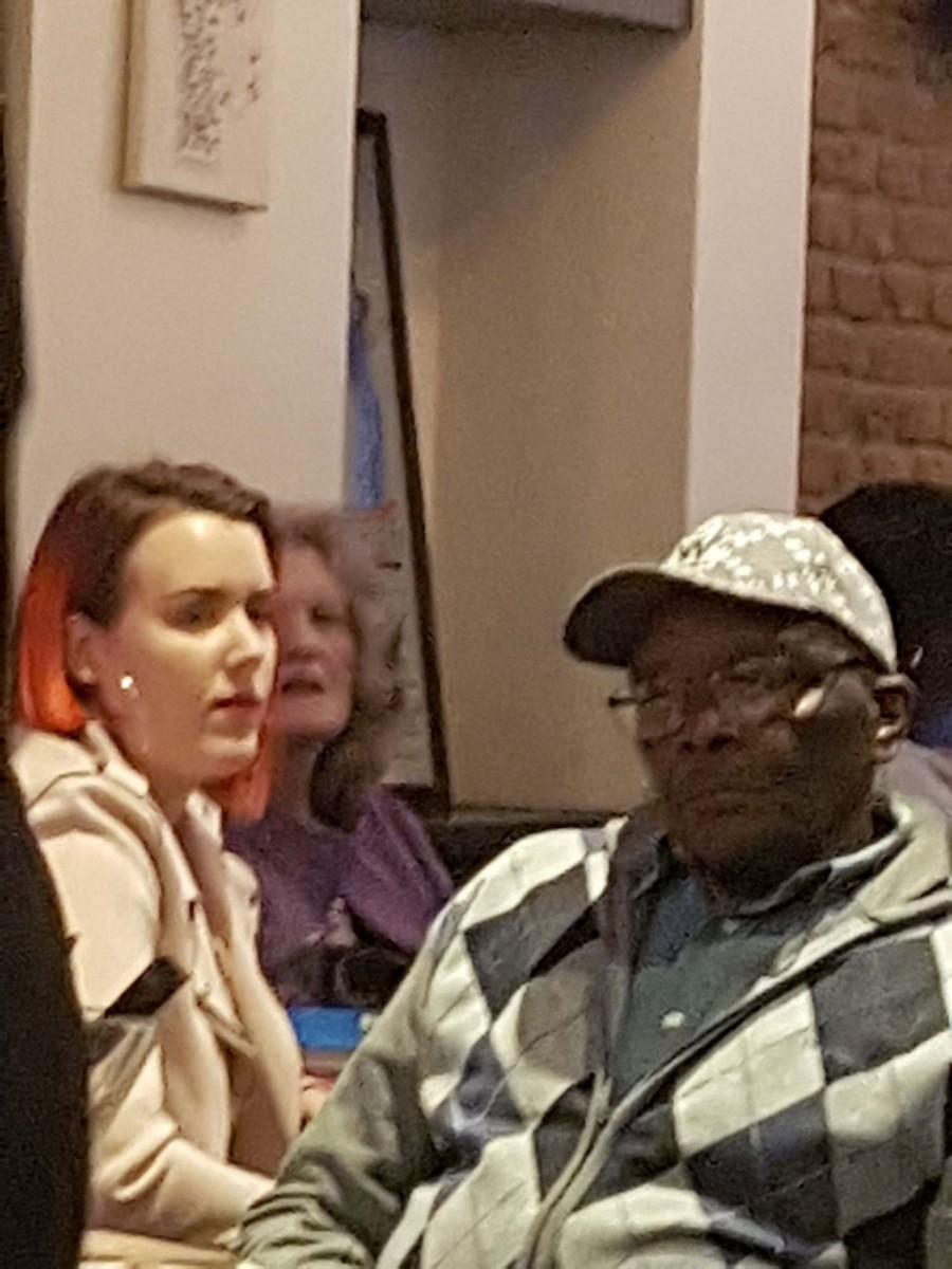 Daddy Edgar karaoke veteran
