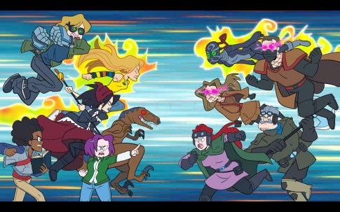 Screenshot from 'Marvel TL;DR - Runaways'