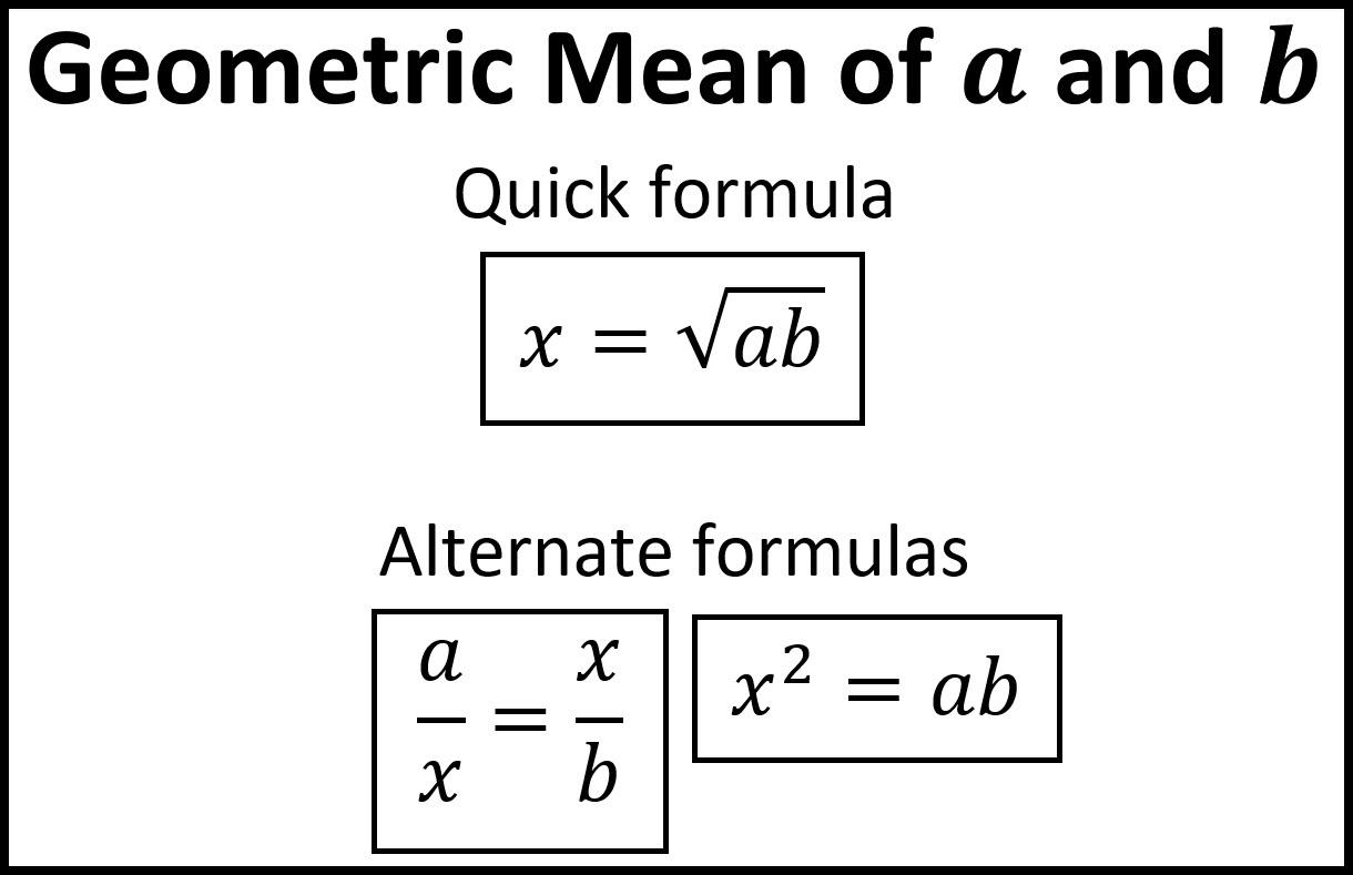Geometric Mean