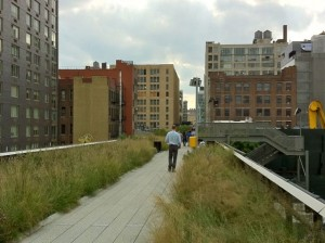 The High Line Park, New York (2011).