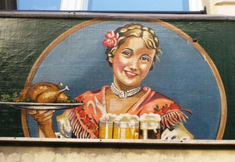 Vienna Heuriger Sign