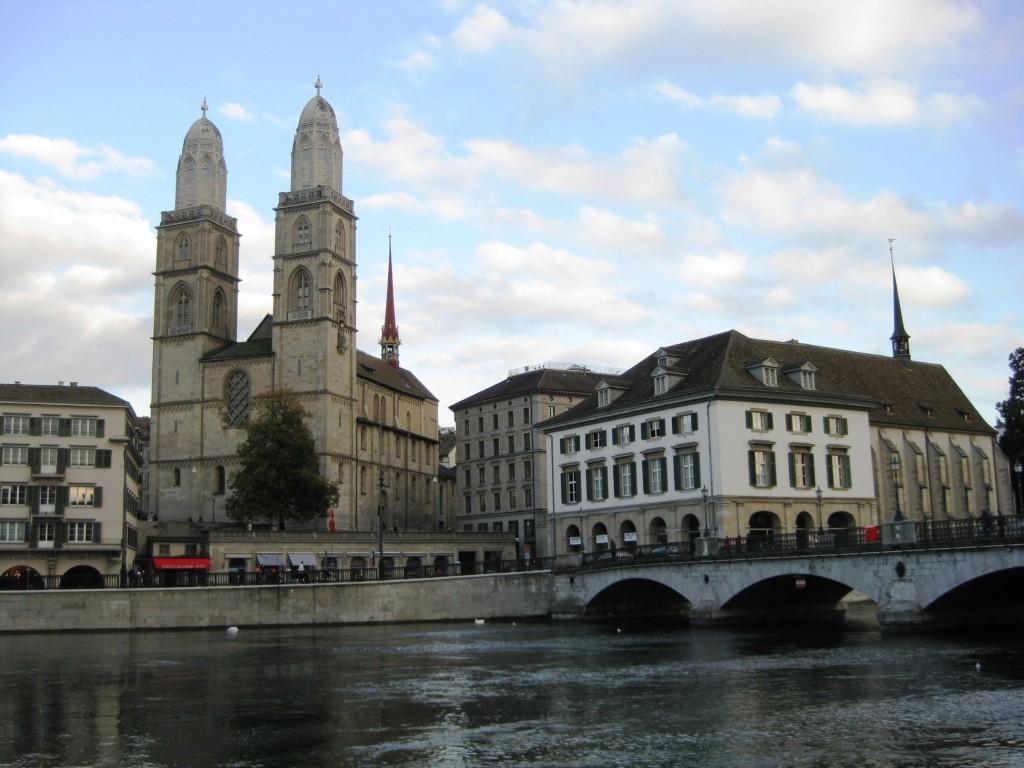 Zurich Grossmuenster in the Altstadt