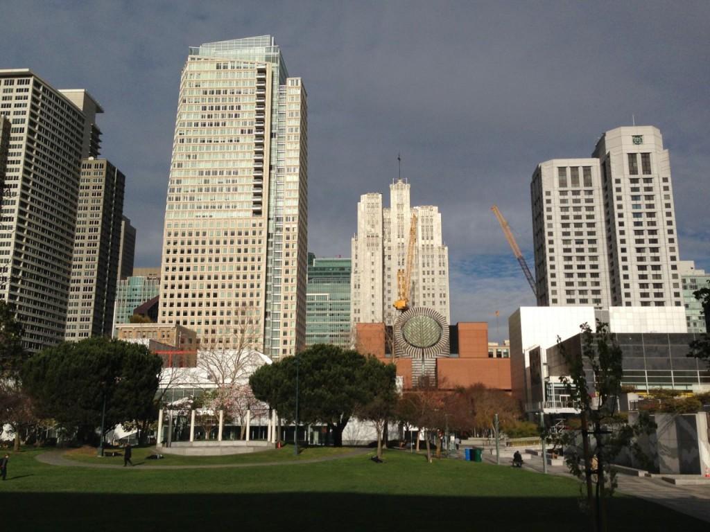 San Francisco Yerba Buena Gardens - February 2014