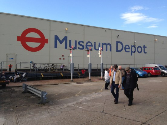 London Transport Museum Depot in Acton