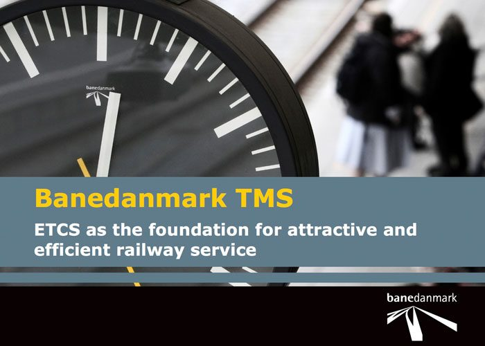 I'm helping develop a railway traffic management system for Banedanmark (Denmark's railway network operator) as part of the Signalling Programme. See Banedanmark TMS: ETCS as the foundation for attractive and efficient railway serivce (PDF) for more.