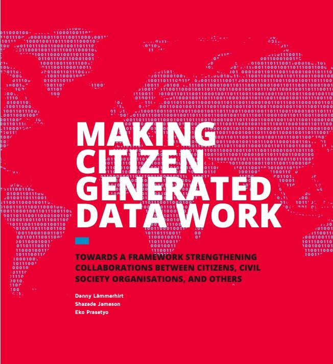 Cover of report Making Citizen Generated Data Work (2017)).