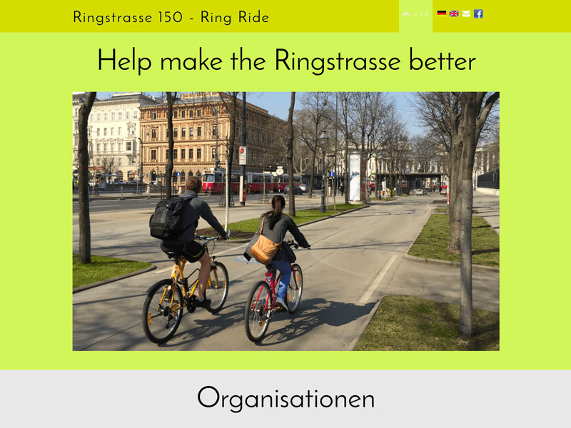 Ringstrasse150 Project Launch