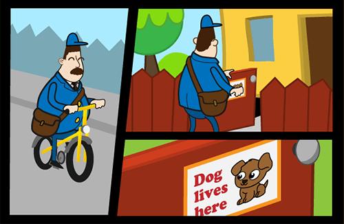 Grr-Grr-Bike game screenshot