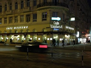 Photo of Cafe Westend Vienna at night