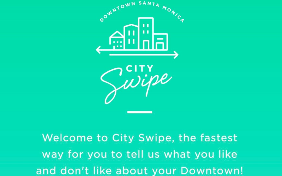 City Swipe – Santa Monica Downtown