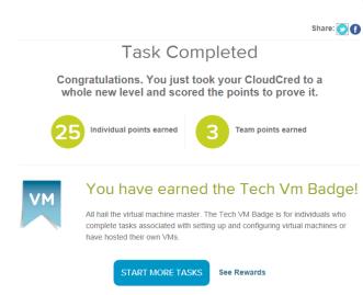 Tech VM badge