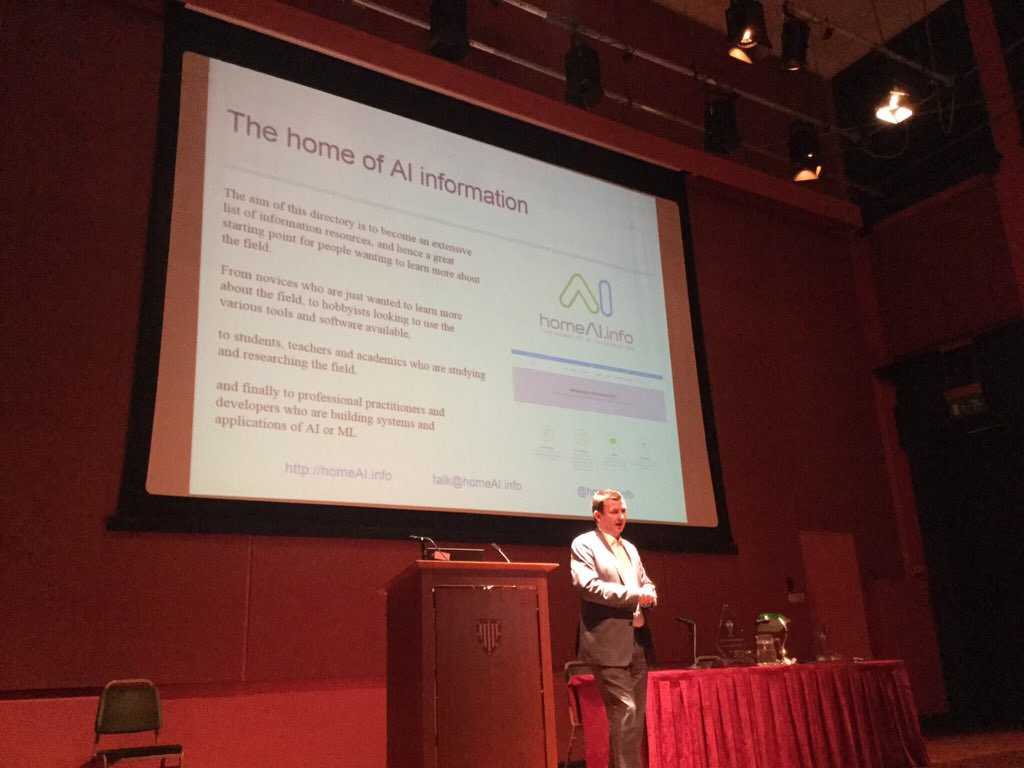 BCS AI Conference 2015 Open Mic Session