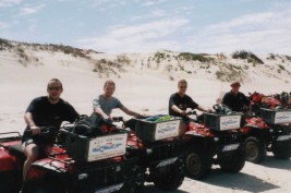 My Coral Coast quad trip (I'm 3rd from left). ©Andy Parsons