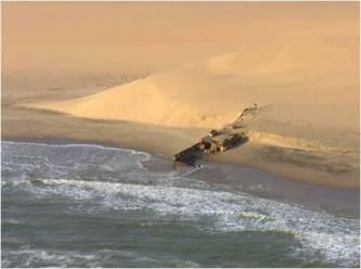 Skeleton Coast - picture courtesy of Namibia Tourist Board.