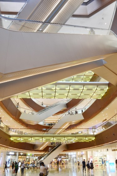 The TaiKoo Hoo shopping centre in Guangzhou is one of many impressive new buildings.