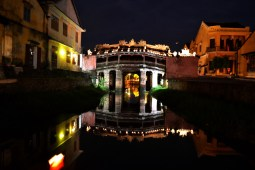 The Japanese Bridge in the old town is one of the top sights in the city.