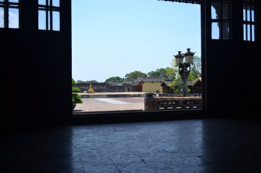 The Huế Imperial City is a spectacular place.