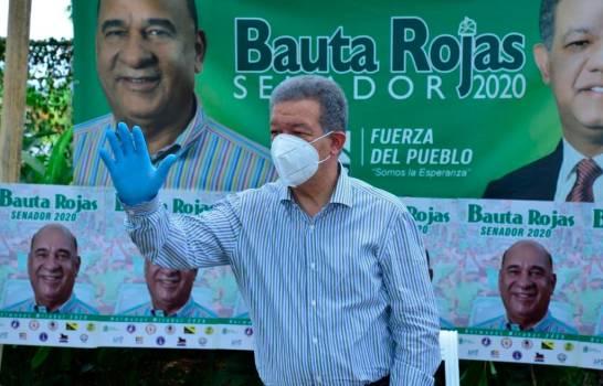 Leonel dice que se requiere experiencia para dirigir al país en medio de la pandemia del COVID-19