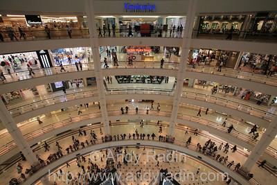 Gigantic shopping malls