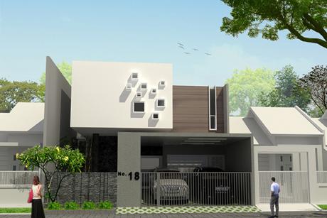 Rumah Minimalis Modern Bisesa Group