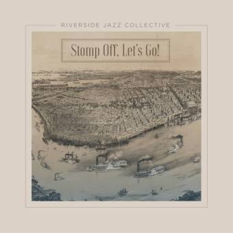 "Riverside Jazz Collection ""Stomp Off, Let's Go!"" Cover Art"