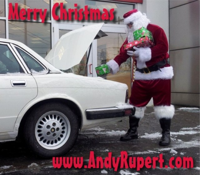 Christmas Jaguar sm