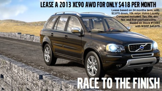 VO race to finish XC90