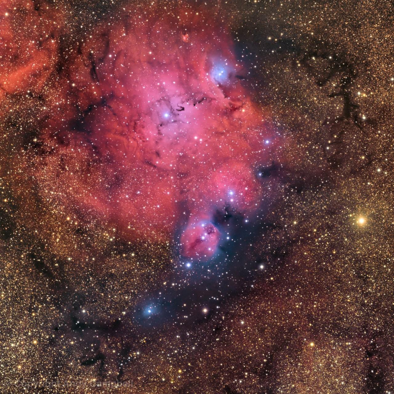 ic 4685 sagittarius nebula