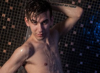 AndysBestSites BeautifulTwinks Gorgeous Gay Twink Don In The Shower!