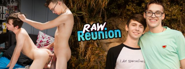 AndysBestSites 8TeenBoy Caleb Gray & Dustin Cook Raw Reunion