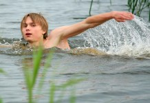 AndysBestSites Favorite Gleb Swims Naked TheGayTeenStudio