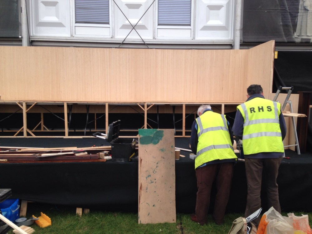 FOBBS Chelsea stand 2015 the big build. (6/6)