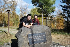 Gooseberry Fall National Park 1_with Kimmy