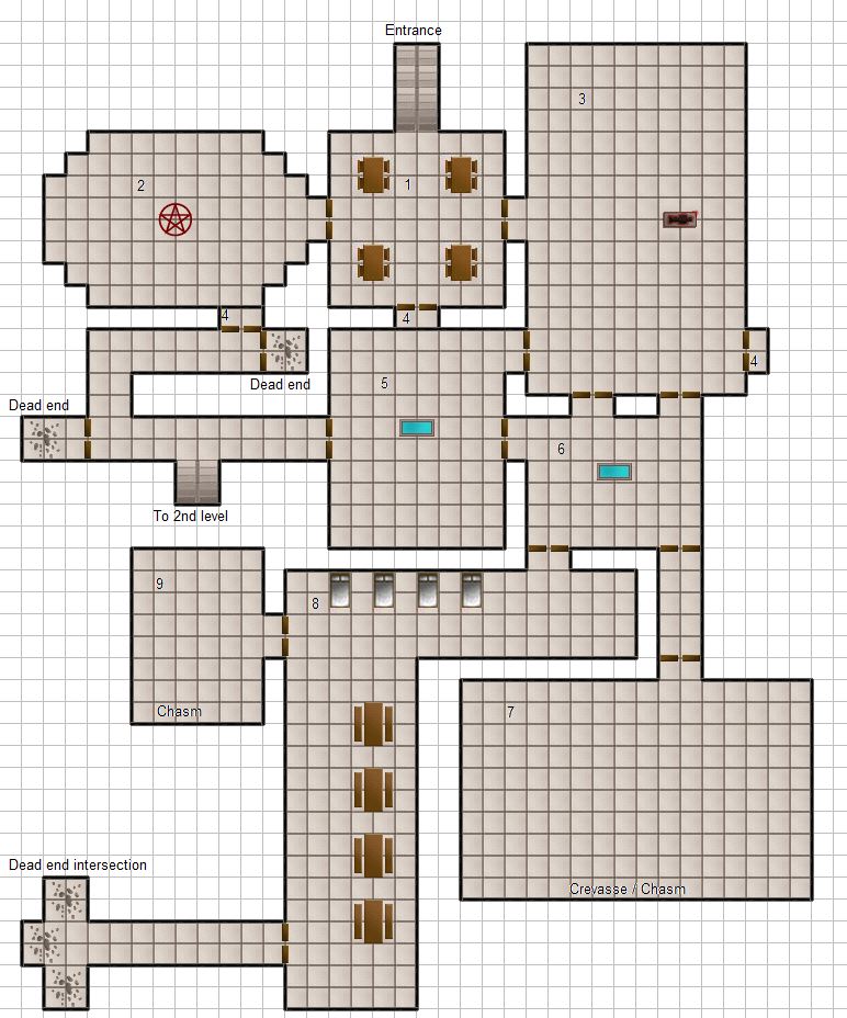 Dungeon Generator Comparison: D&D4E