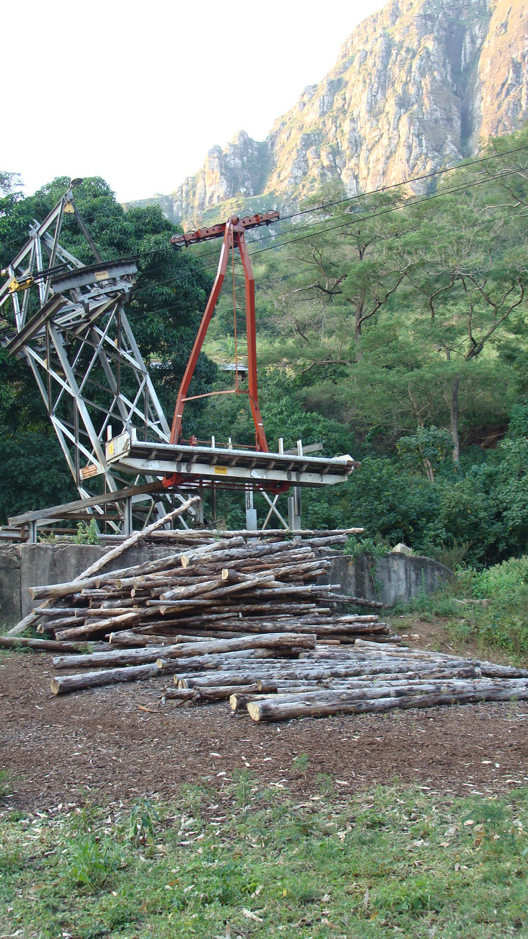 Logging Cable Car