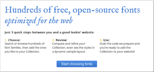 Google Web Fonts v2