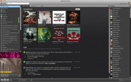 spotify usa interface premium