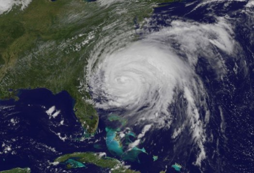 Hurricane Irene August 26 NASA Satellite