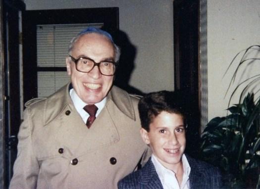 Me and Zadie circa May 1987