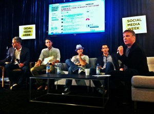 Adler Integrated Social Media Week LA Live Streaming Panel #smwla #smw12
