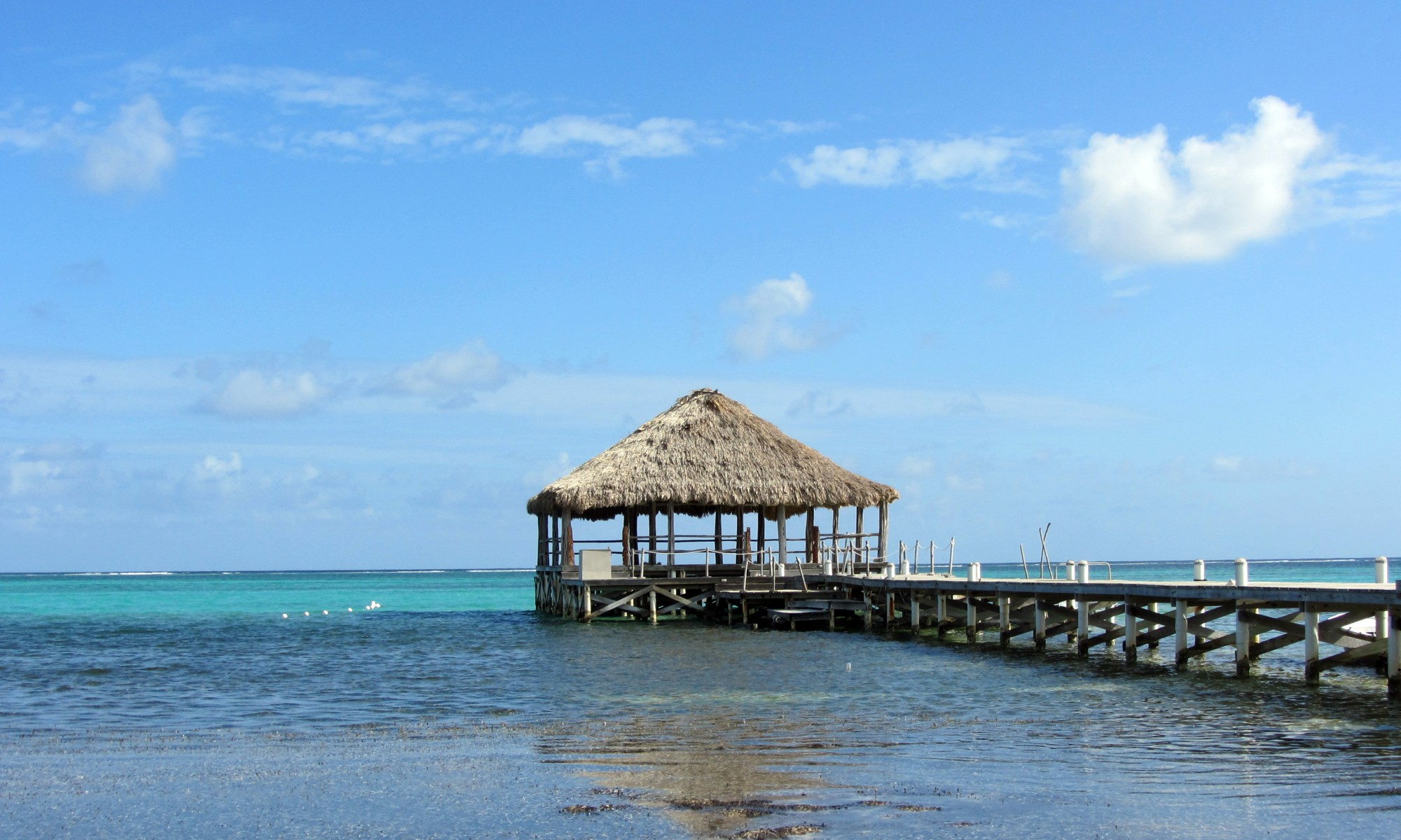 Palapa in Belize