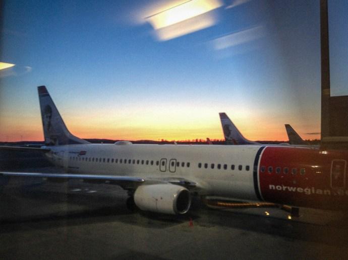 Nice sunrise over Oslo