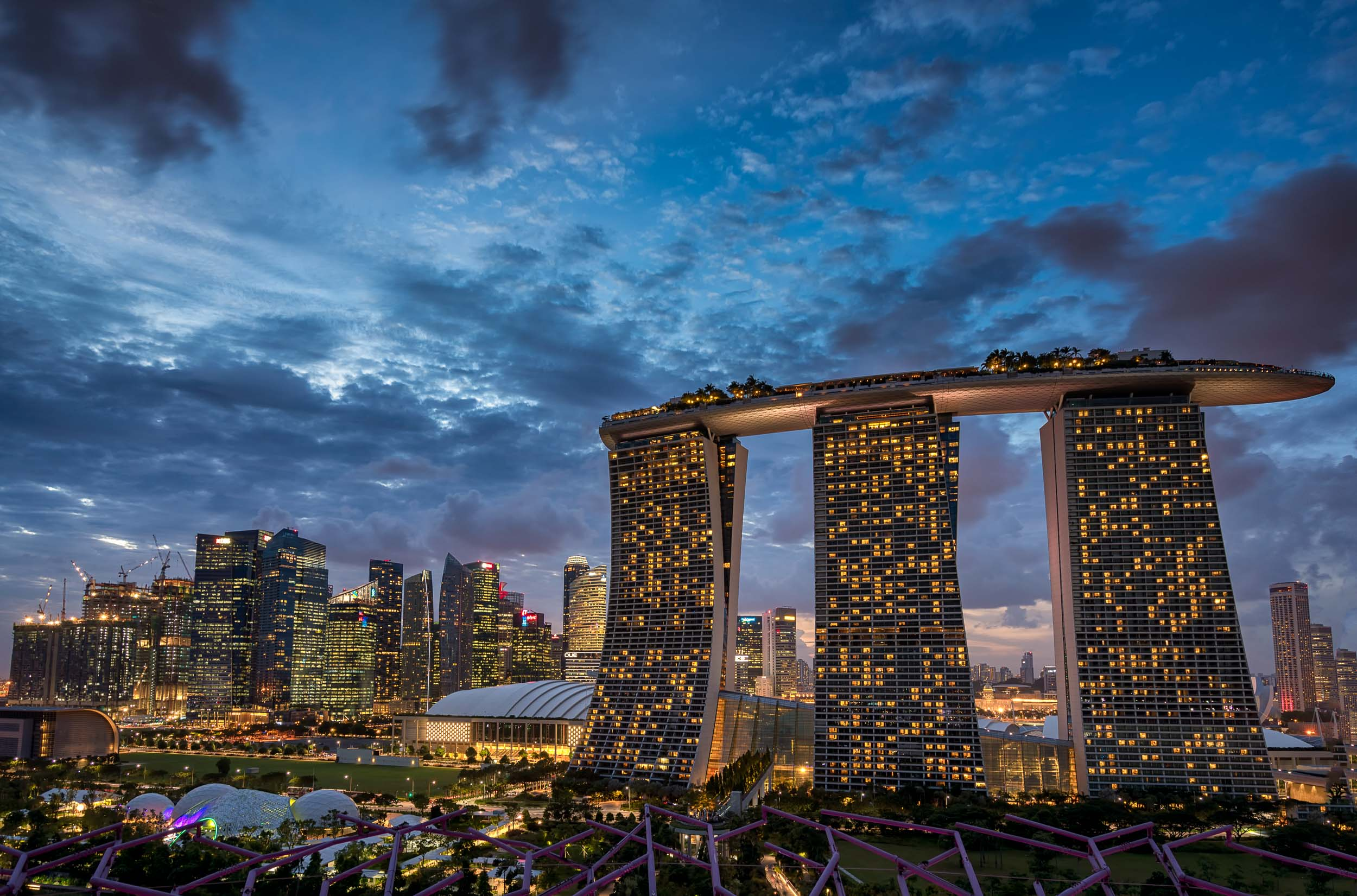 Singapore 39 S Amazing Gardens By The Bay And Marina Bay Sands Andy 39 S Travel Blog