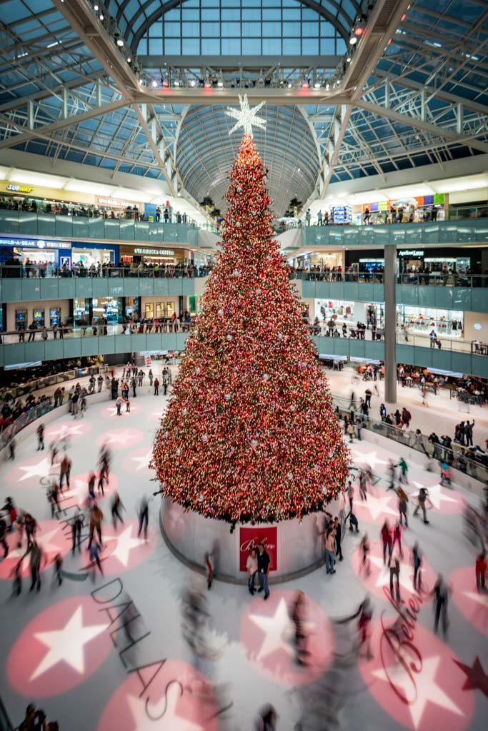 Picture Of The Week Galleria Dallas Christmas Tree Andy