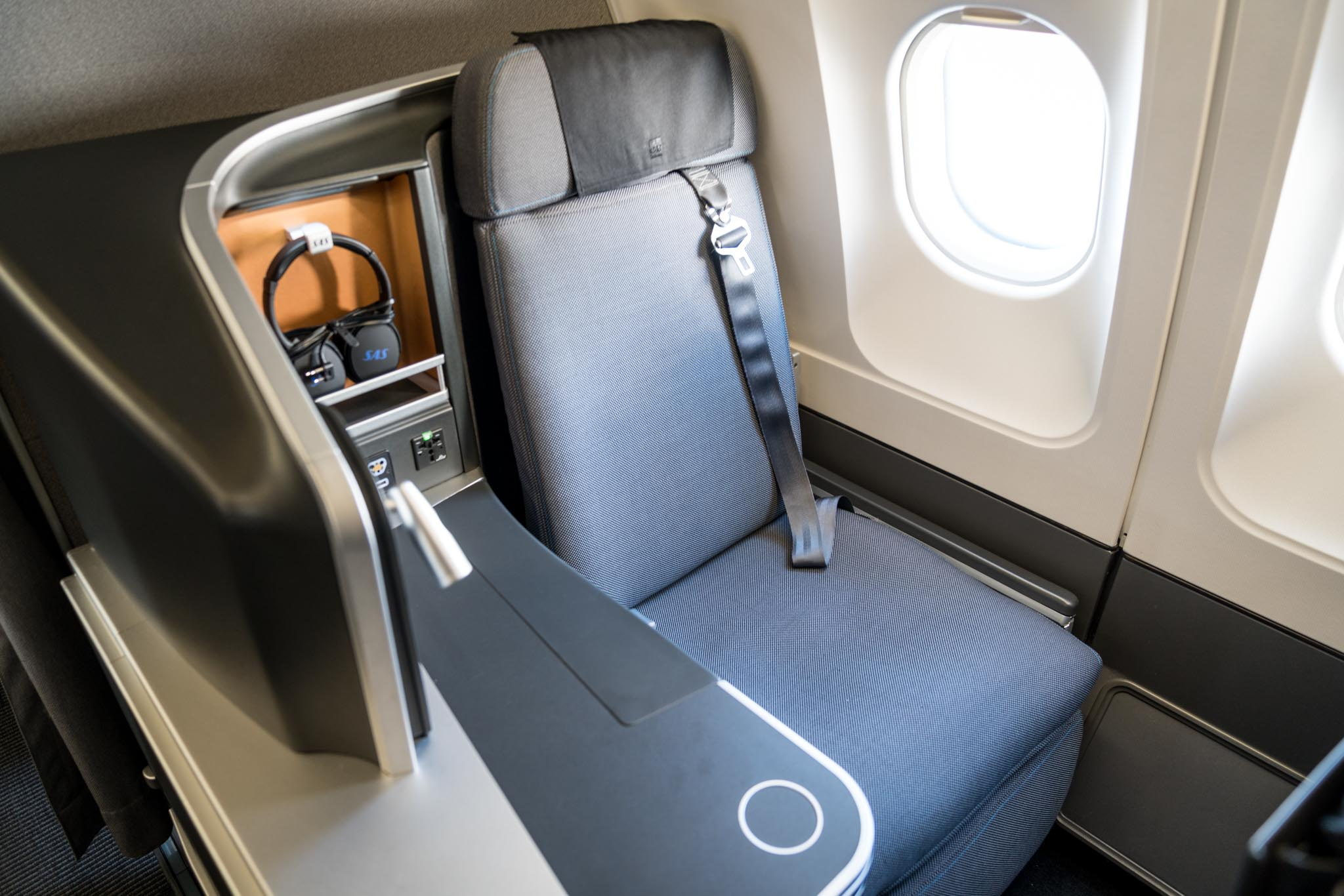 SAS A340 Business Class Review LAX ARN Andys Travel Blog