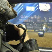 Andy Taylor Announcer Dionne PBR