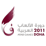 Announcer Andy Taylor. 2011 Arab Games Doha