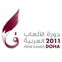 Announcer Andy Taylor. 2011 Arab Games Doha