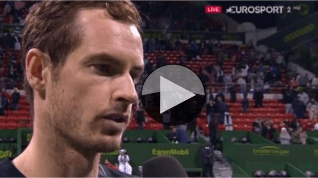 Andy Murray. Record-breaking night in Doha